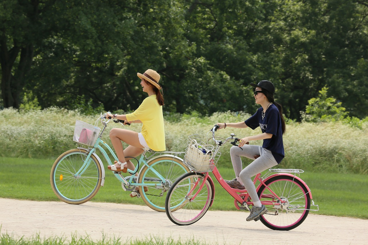 Fahrradfahren-hält-fit