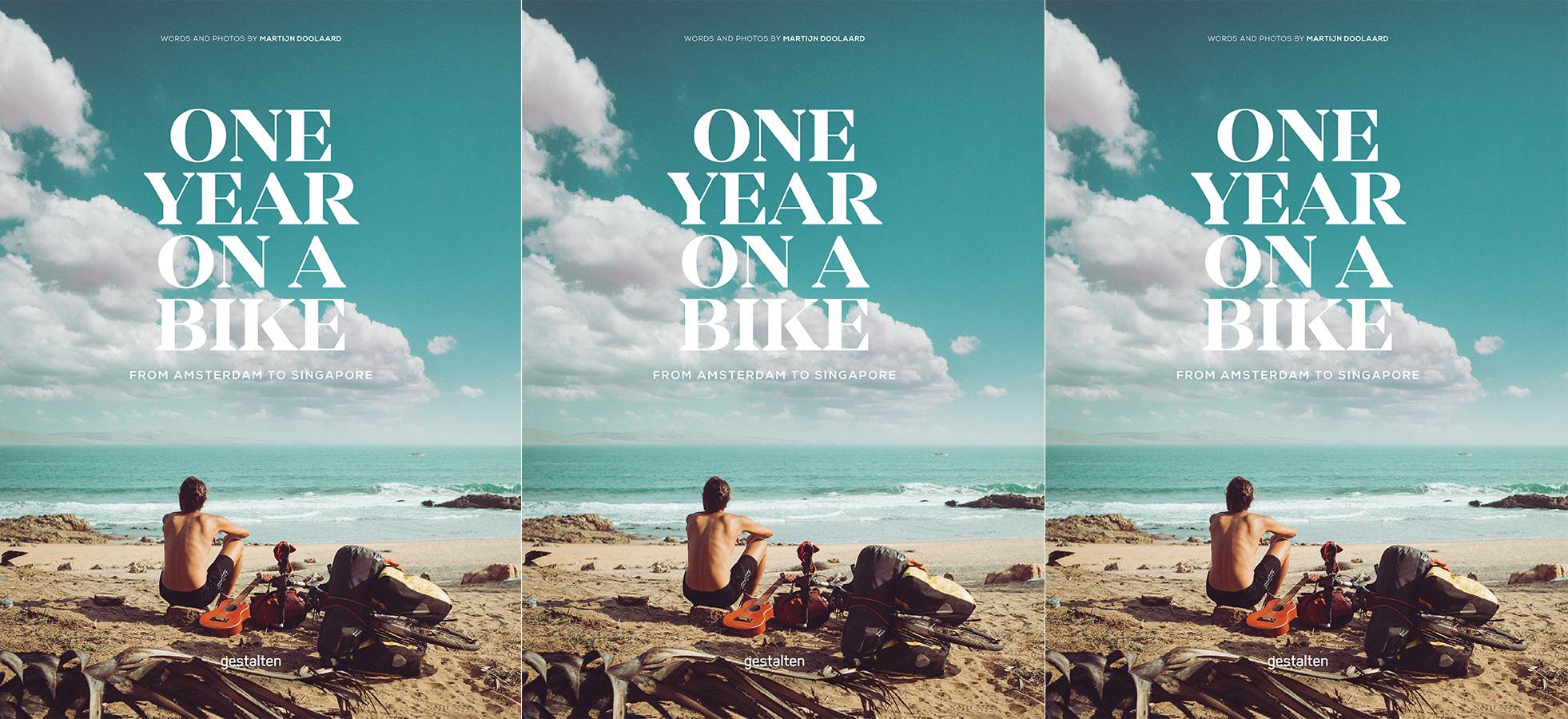 One-Year-On-A-Bike-Gestalten-Verlag-Cover